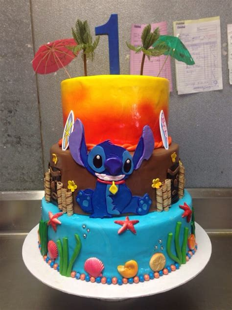 Places That Make Wedding Cakes Near Me by Lilo And Stitch 1st Birthday Cake Yelp