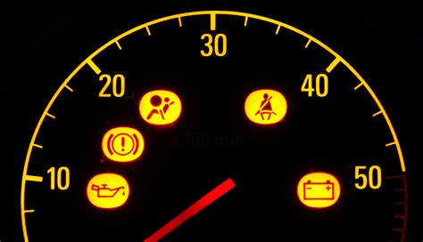 car dash lights meaning auto warning symbols