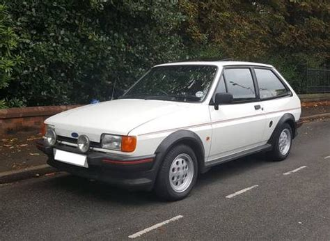 sale ford fiesta xr white  owner  original  classic cars hq
