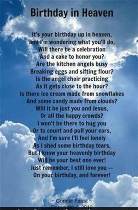 Happy Birthday Quotes For Someone In Heaven Missing Someone In Heaven Google Search Heaven