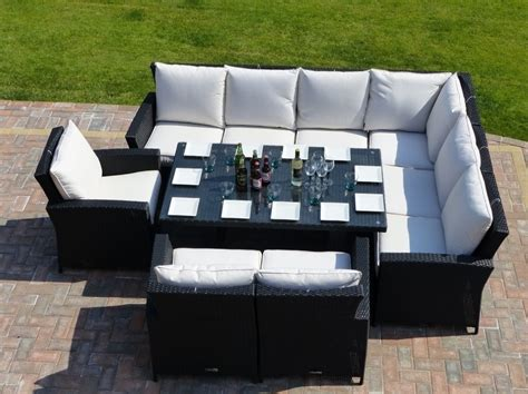 dining sofa set panama rattan garden dining set oceans outdoor furniture