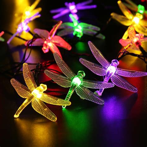 Amazon 20 Foot Dragonfly Solar Lights Only 7 14 With Dragonfly Solar Lights