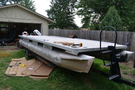 boat rub rail ideas structures 1976 crest 21ft rebuild pontoon forum gt get
