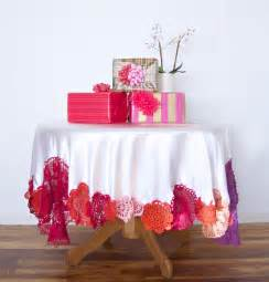 colorful tablecloth colorful crochet tablecloth a subtle revelry