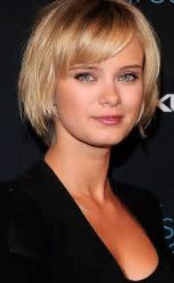 haircuts with bangs for hair 50 narrow chin 15 short straight hairstyles for round faces short