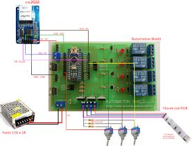 Ethernet Shleid Ws5100 teste automation shield