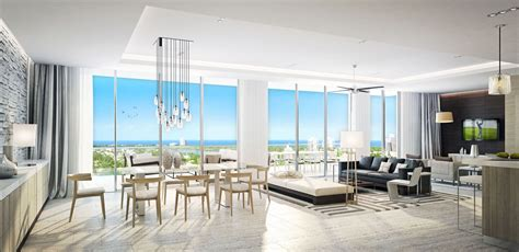 living room fort lauderdale riva condos pre construction salesriva fort lauderdale