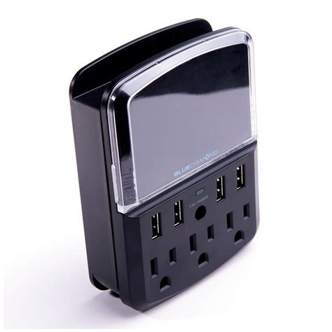 Saver Charger Mobil 3 Usb defend space saver 4 usb charging ports 3 outlets 540 joules power kge 233 lectronique
