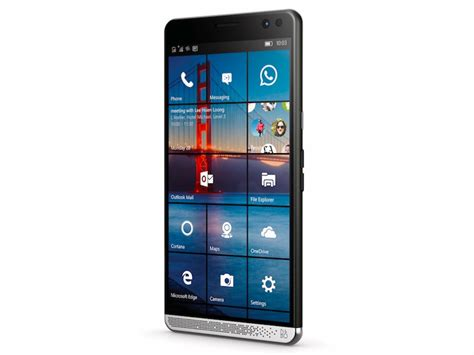 news mobile hp elite x3 with snapdragon 820 windows 10 mobile