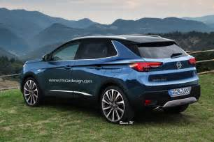 Gm Opel 2017 Opel Grandland X Rendered Gm Authority