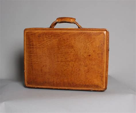 vintage hartmann belting leather briefcase attache