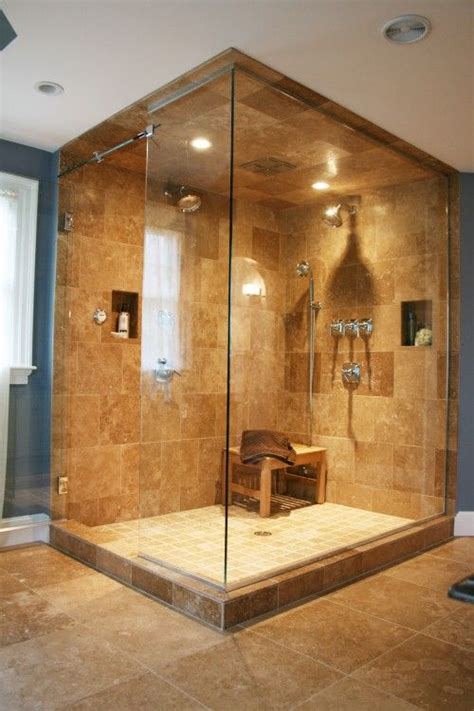 how to stop d in bathroom tiles on the big shower space including ceiling