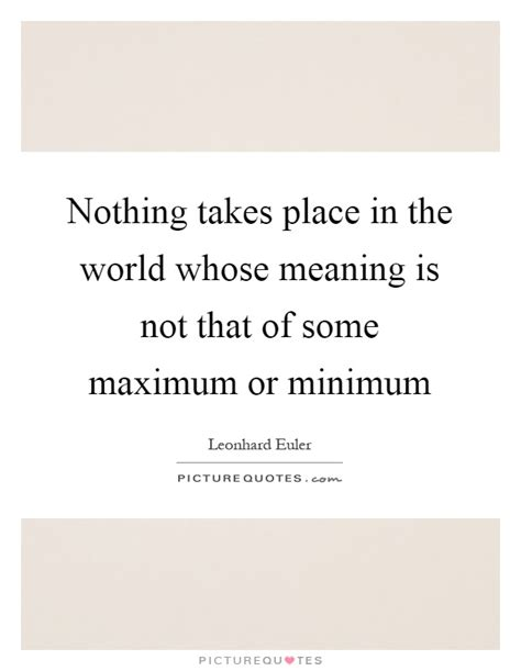 The Place Lyrics Meaning Nothing Takes Place In The World Whose Meaning Is Not That Of Picture Quotes