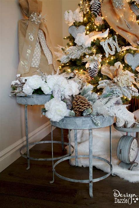 repurposing everyday items  holiday decorating design