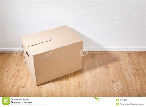 But On Floor by Moving Box On The Floor Stock Photography Image 37705252