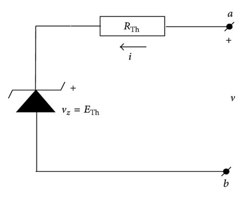 if the zener diode in the circuit is shorted an equivalent circuit with zener diode if the external circuit with a