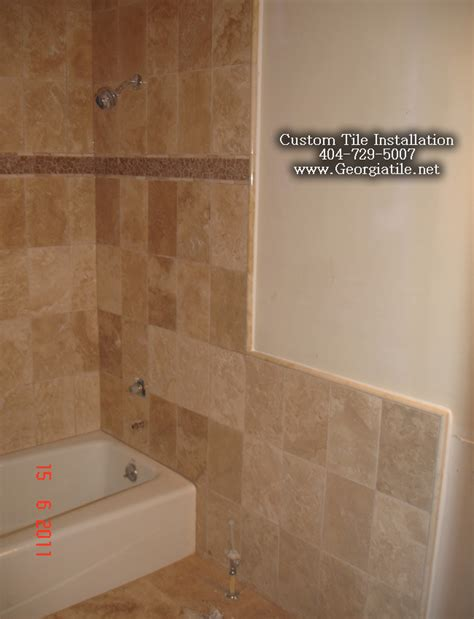 replace bathtub with tile shower shower gallery 18 photos of the bathroom tub tile designs installation bathtub
