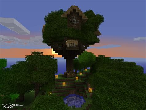 minecraft tree houses pin minecraft house tree cool houses on pinterest picture