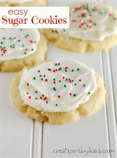 easy sugar cookies recipe dishmaps