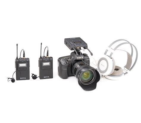 Lcd Wm8 by wm8 dual channel uhf wireless microphone system boya