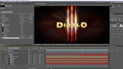 tutorial intro after effects logo after effects tutorial diablo iii intro logo part 1