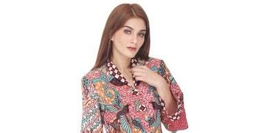 Dress Batik Modern Bisa Seragam Stok Banyak 11 seragam batik guru modern modis dan praktis model