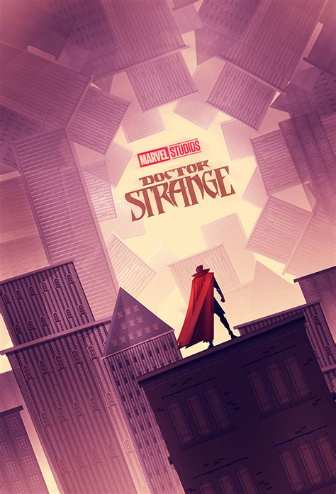 doctor strange poster fan art  behance