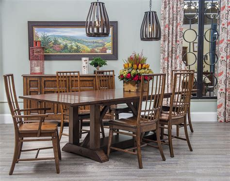 blue ridge dining room easton collection blue ridge formal dining room group