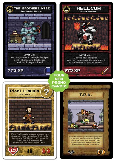 promo cards the dungeon building card wiki