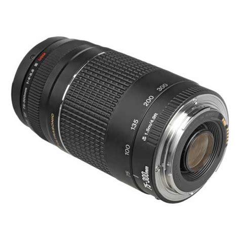 Canon Ef 75 300mm F 4 5 6 Iii jual lensa canon ef 75 300mm f 4 5 6 iii usm harga murah
