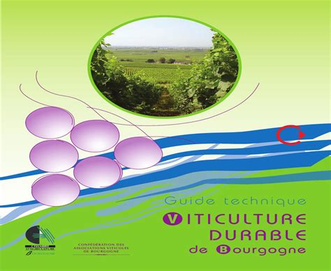 Chambre Agriculture Bourgogne by Guide Technique Viticulture Durable De Bourgogne By