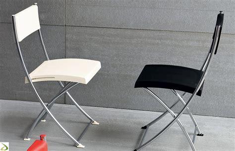 sedie pieghevoli moderne sedia moderna pieghevole clap arredo design