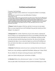 7 best images of small business loan proposal template