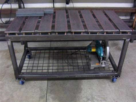 welding bench ideas ultimate welding table shop hacks pinterest welding
