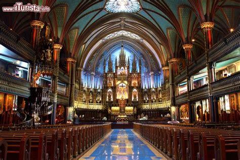 notre dame interno interno della basilica di notre dame a montreal