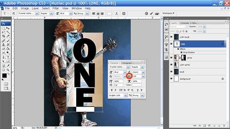 cara membuat kartu nama photoshop cs3 cara membuat tulisan menurun kebawah di photoshop cs3