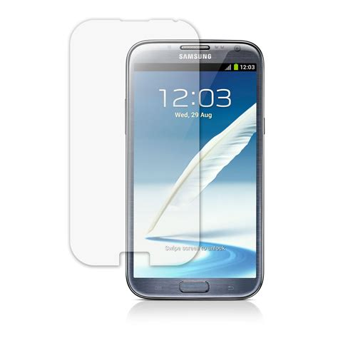 top quality clear lcd screen protector for samsung galaxy note 2 gt n7105 n7100 ebay