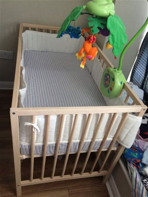Baby Crib Springs Baby Crib With Mattress Mobile And Playmat For Sale In Inchicore Dublin From Gmogames