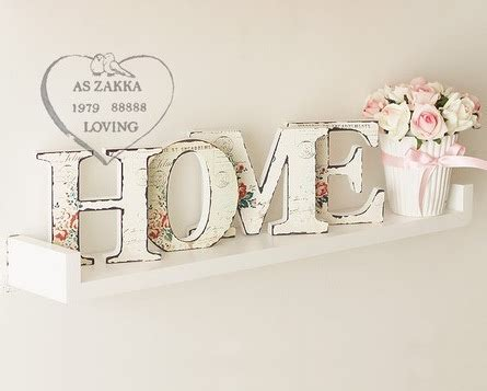 lettere soprammobili quot home quot lettter wooden furnishings wooden letter home