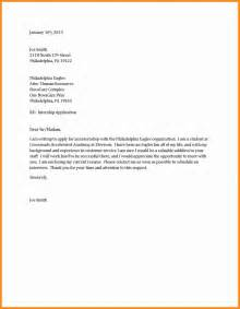Basic Cover Letter Sle by 3 Basic Cover Letter Format Template Plan Template