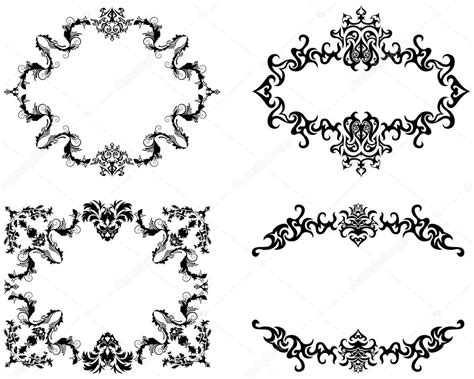 Cornici Gotiche by Frame Stock Vector 169 Angelp 3660741