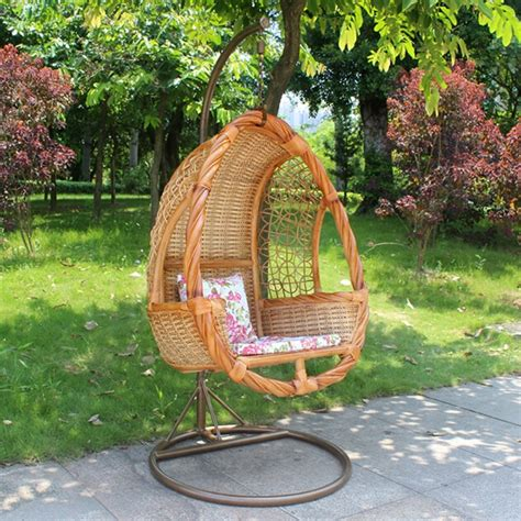 single porch swing chair patio single seat swing hanging chair outdoor wooden