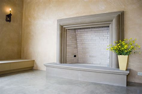 precast concrete fireplace concrete fireplaces in the winery by sonoma cast