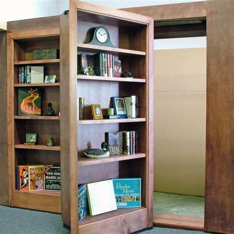 this bookcase door makes your home mysterious