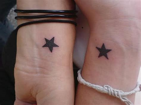 star tattoos for couples 40 creative best friend tattoos hative