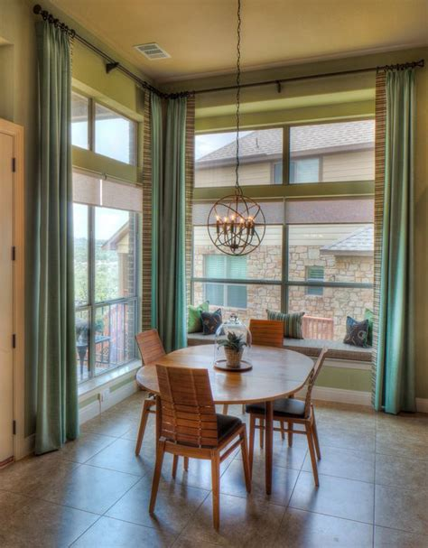 dining room window treatment ideas home design lover