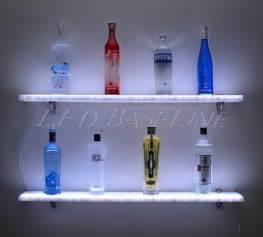 lighted floating shelves 60 lighted liquor bottle bar shelves led lighted wall display floating shelves 196 00