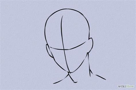 best photos of anime head template anime head outline