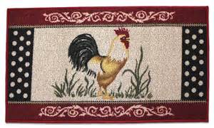 Rooster Kitchen Rugs Rooster Kitchen Accent Rug Berber Country Farm Chicken Ebay