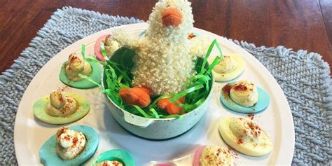 how to color deviled eggs colored deviled easter egg recipe